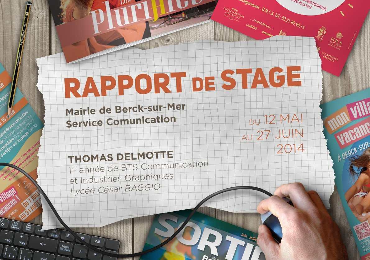 Assez Calaméo - Rapport De Stage TZ91