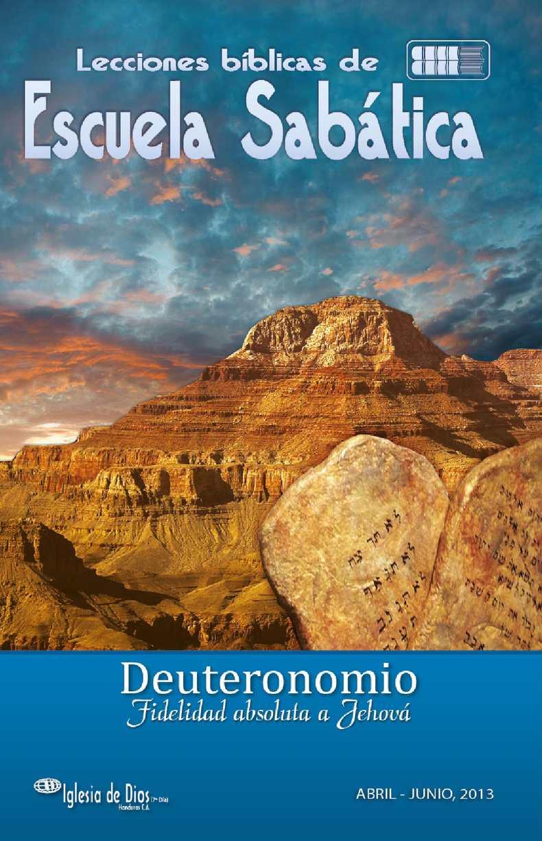 2013 04 06 DEUTERONOMIO
