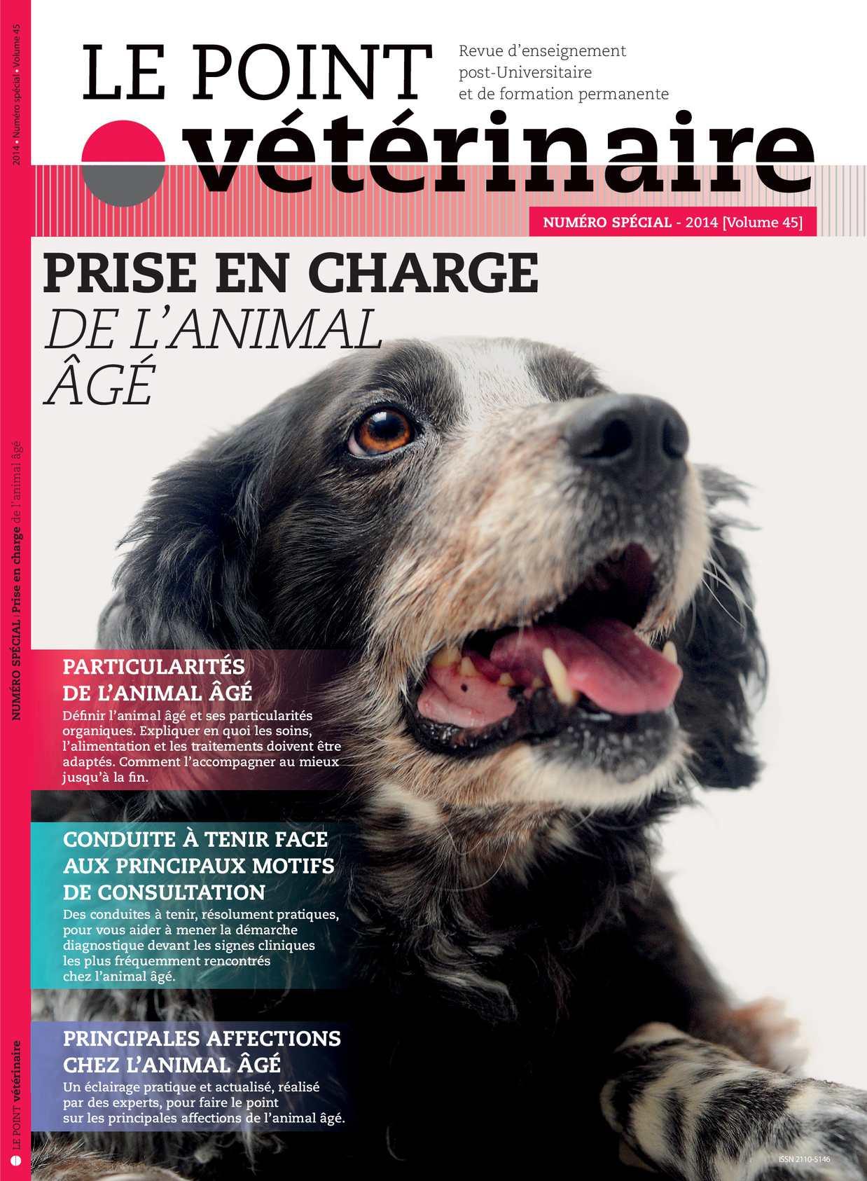Le Point Vétérinaire - Numéro spécial Canine 2014