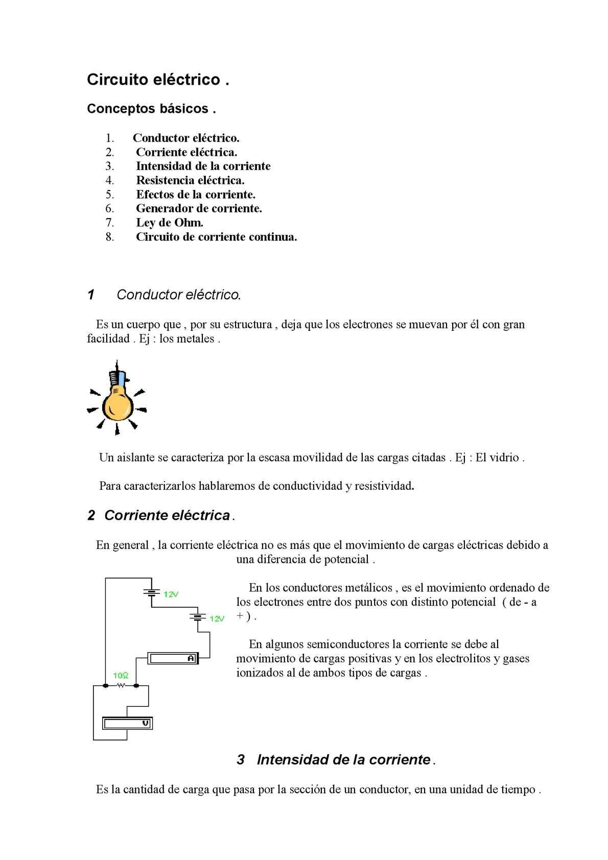 Circuito General : Calaméo circuitos electricos