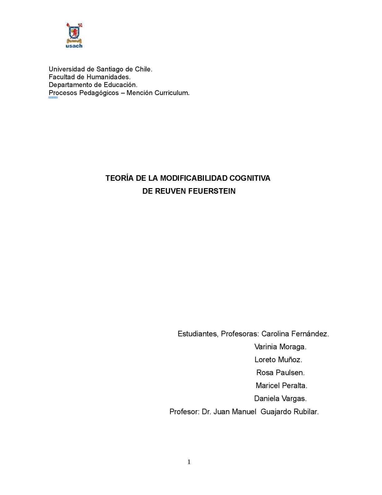 Calaméo - Borrador Trabajo Final Feuerstein