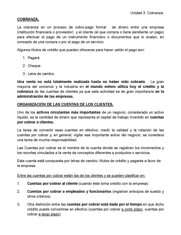 Calaméo - Unidad 3 Cobranza