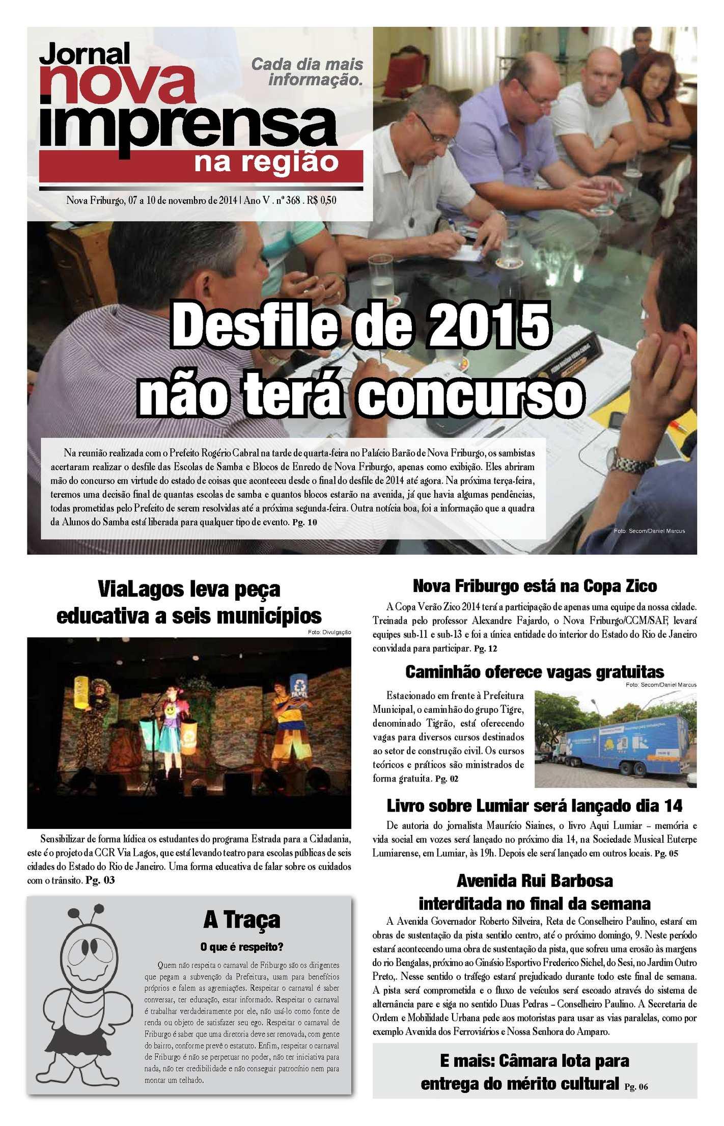 Jornal Nova Imprensa - Edição 368