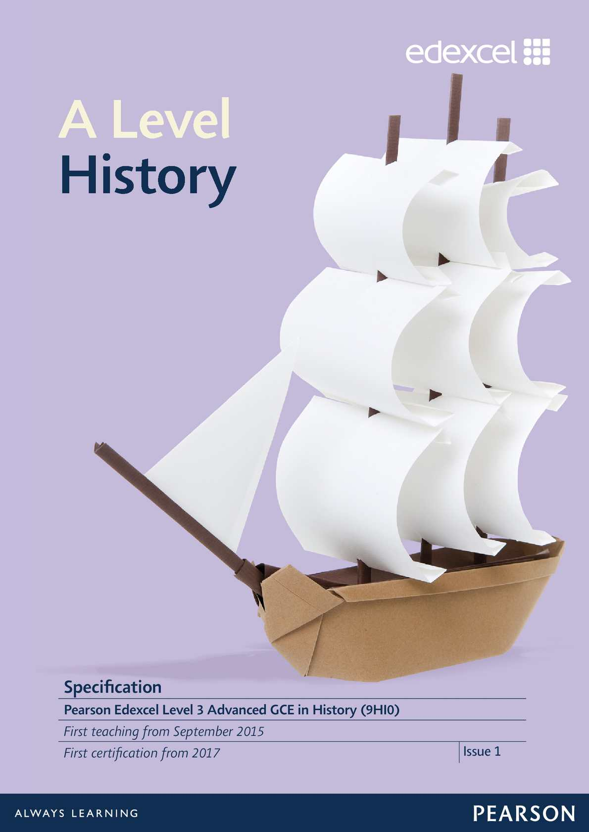 edexcel history coursework mark scheme