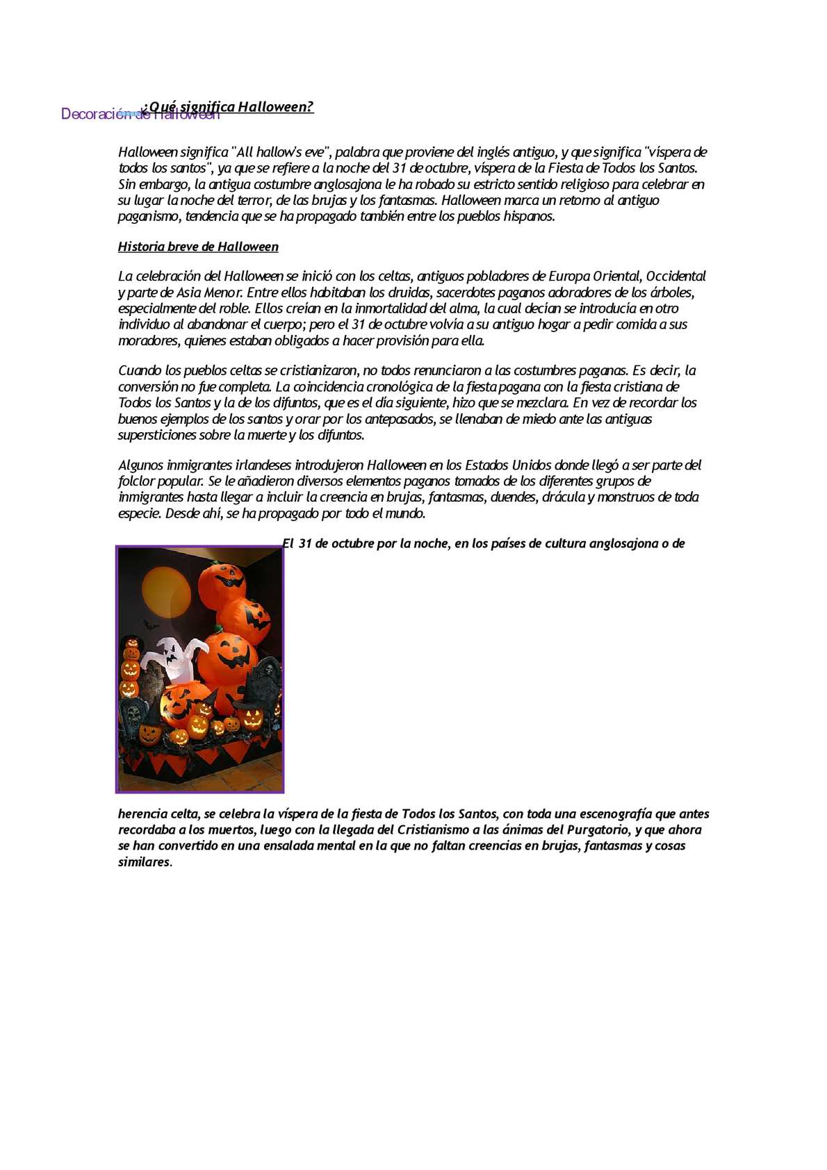 Calaméo - Qué Significa Halloween
