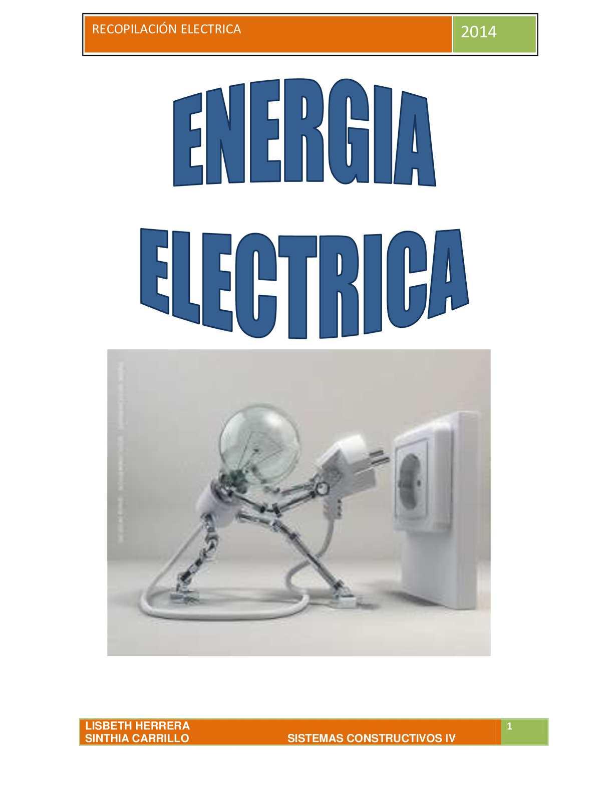 Circuito Que Recorre La Electricidad Desde Su Generación Hasta Su Consumo : Calaméo libro de electricidad