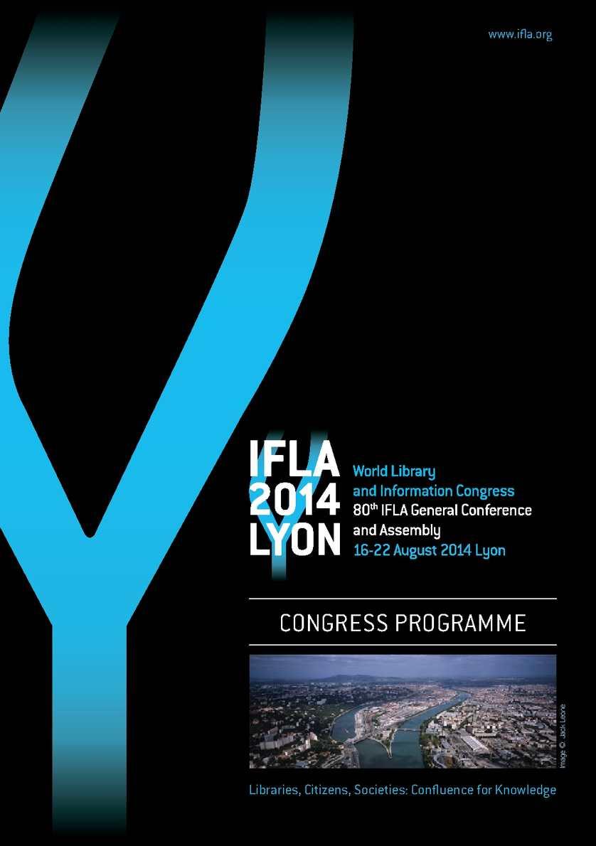 Calamo programme du congrs ifla 2014 fandeluxe Choice Image
