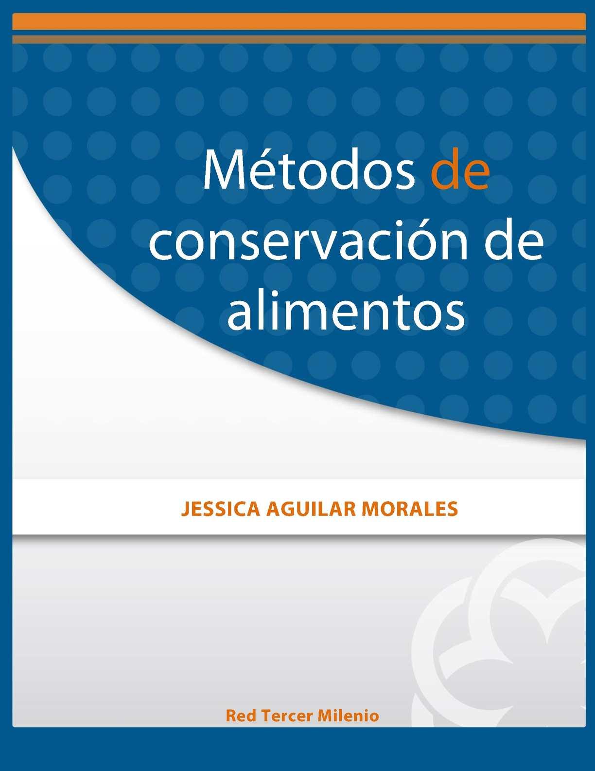 Calam o m todos de conservacion de alimentos for Procesos de preelaboracion y conservacion en cocina pdf