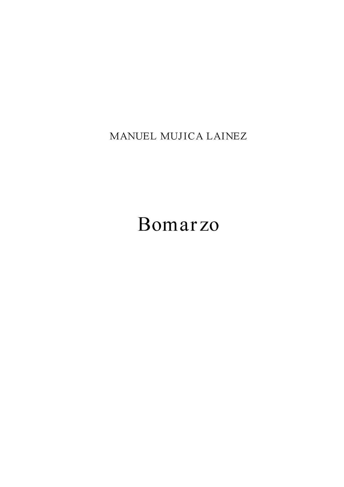 Calaméo - Mujica Lainez, Manuel Bomarzo