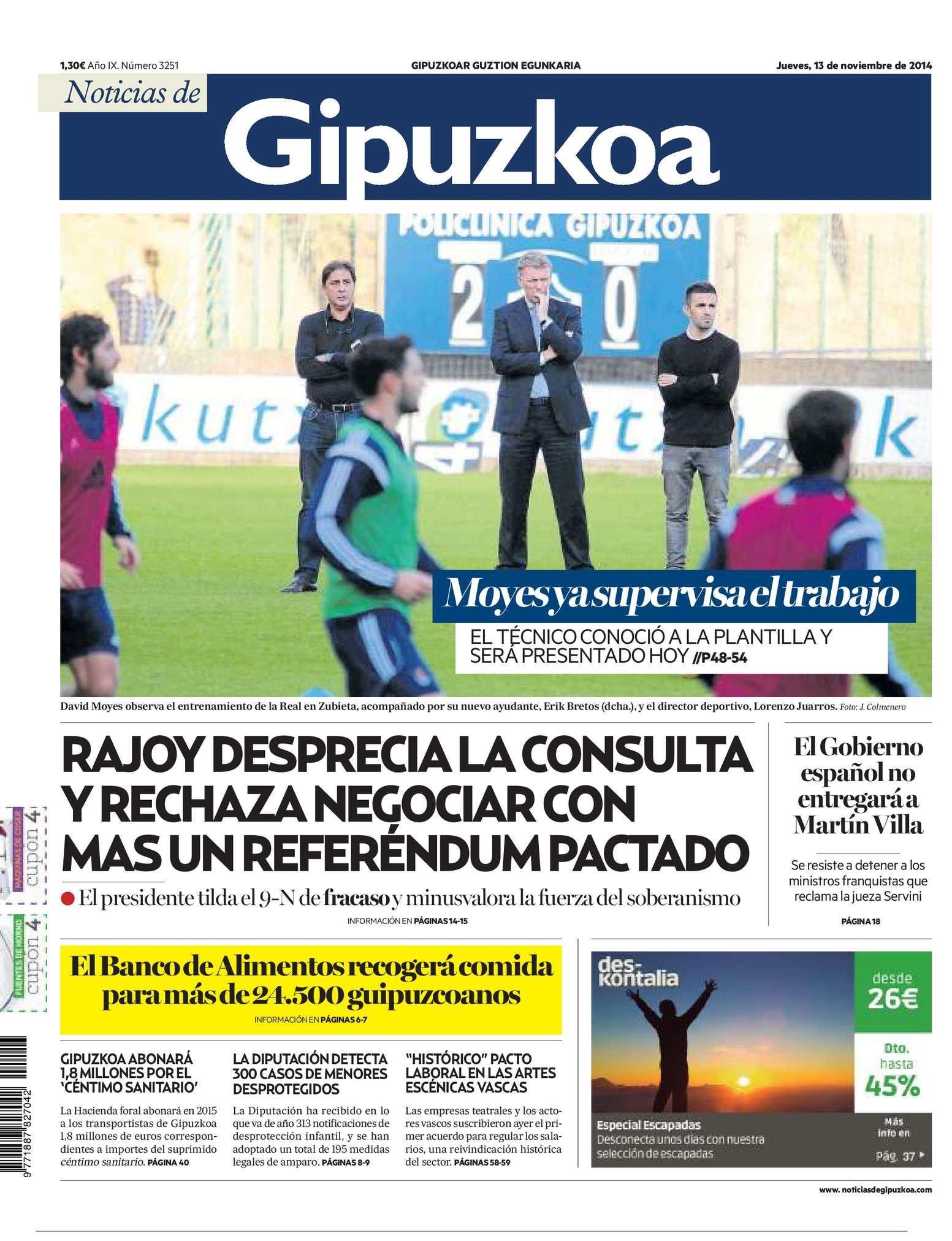 Calaméo - Noticias de Gipuzkoa 20141113
