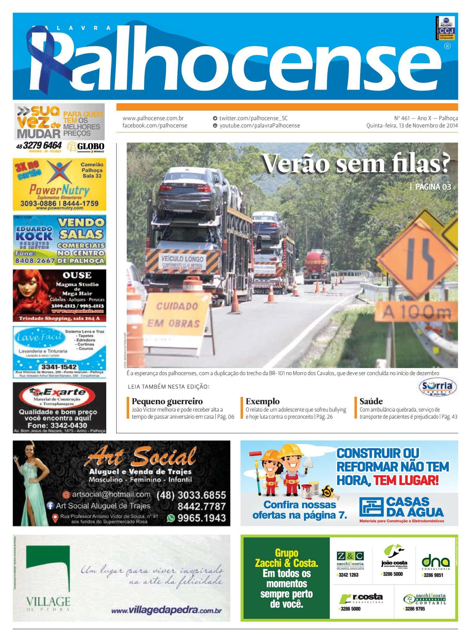 Calaméo - Jornal Palavra Palhocense - Edição 461 64240128e83ef