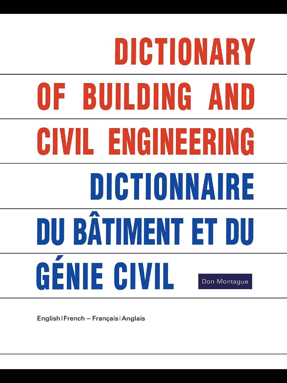 Calameo Dictionnaire Du Batiment Et Du Genie Civil
