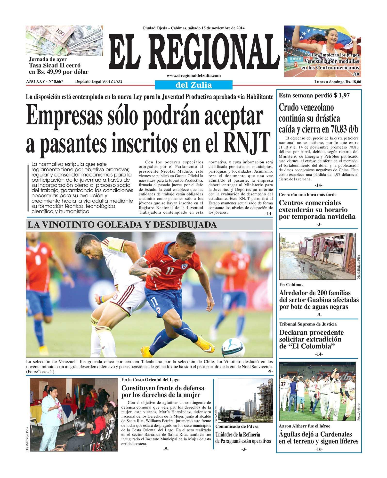 Calaméo - El Regional del Zulia 15-11-2014