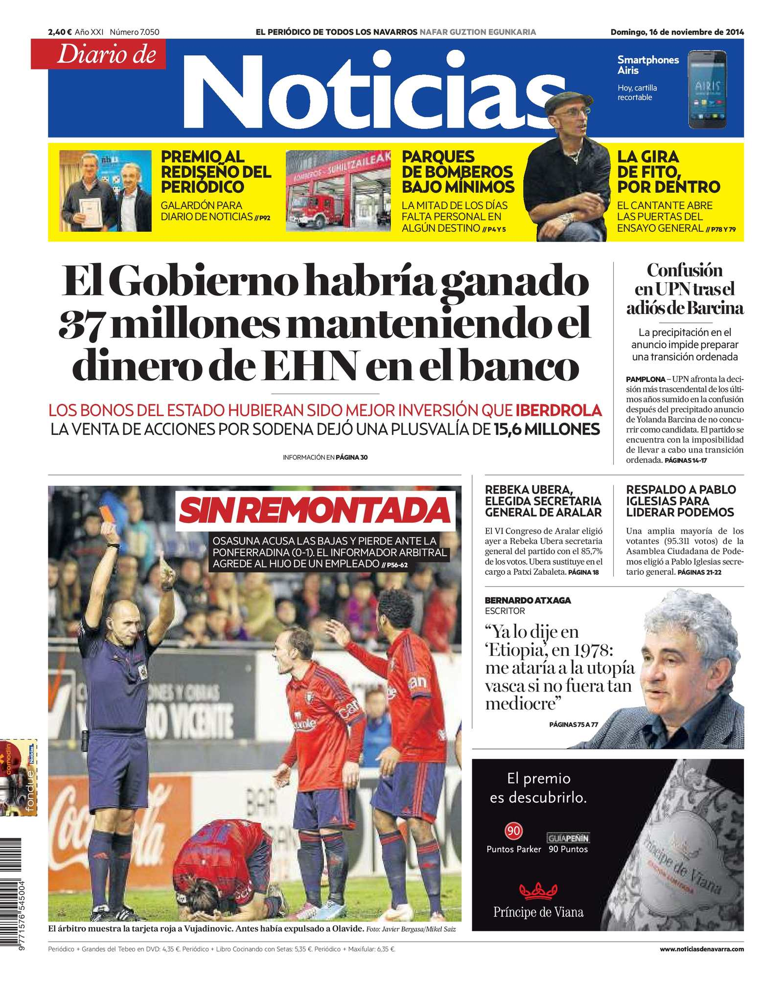 newest ce1bf 0545c Calaméo - Diario de Noticias 20141116