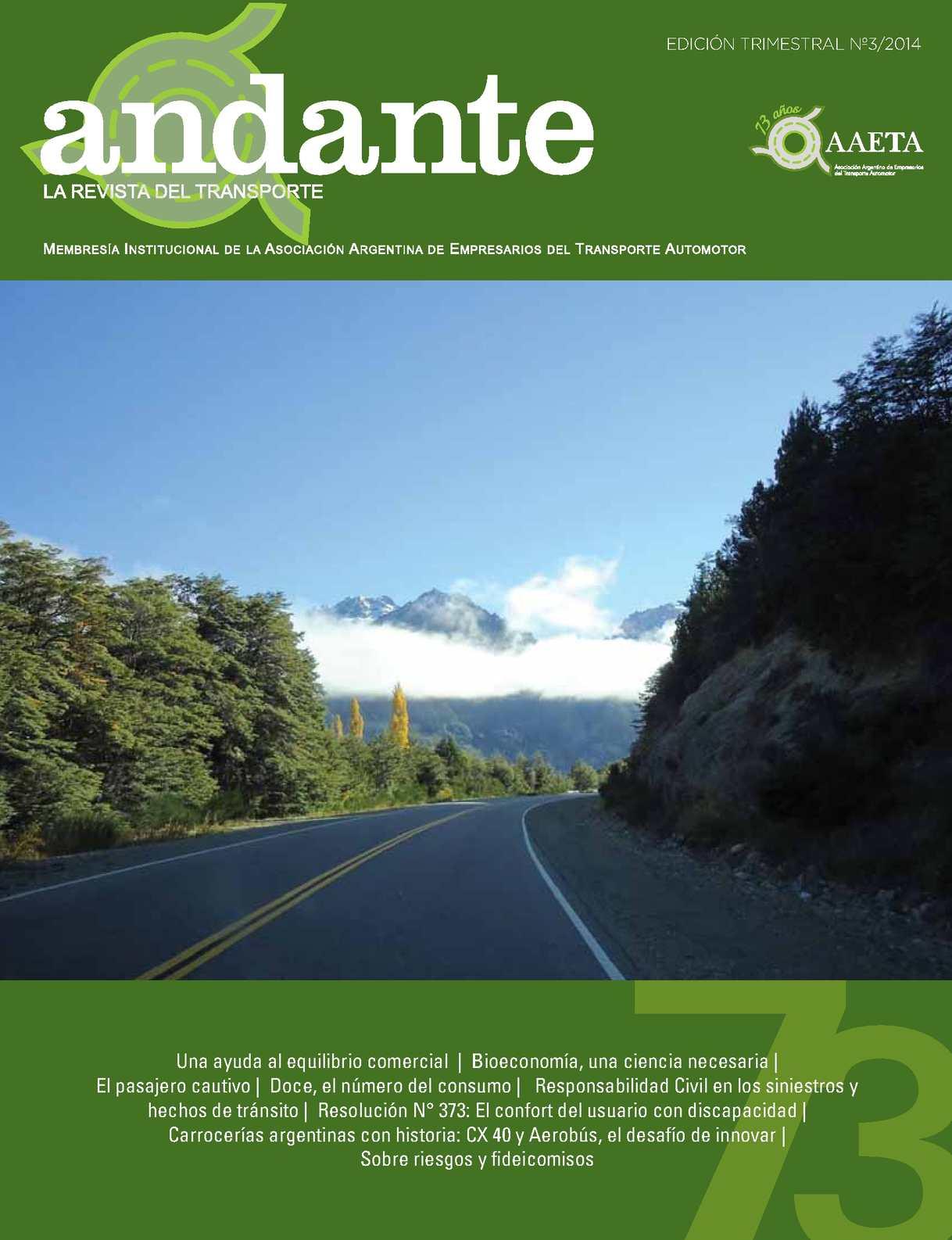 Calaméo - Revista Andante Nº03 - 2014