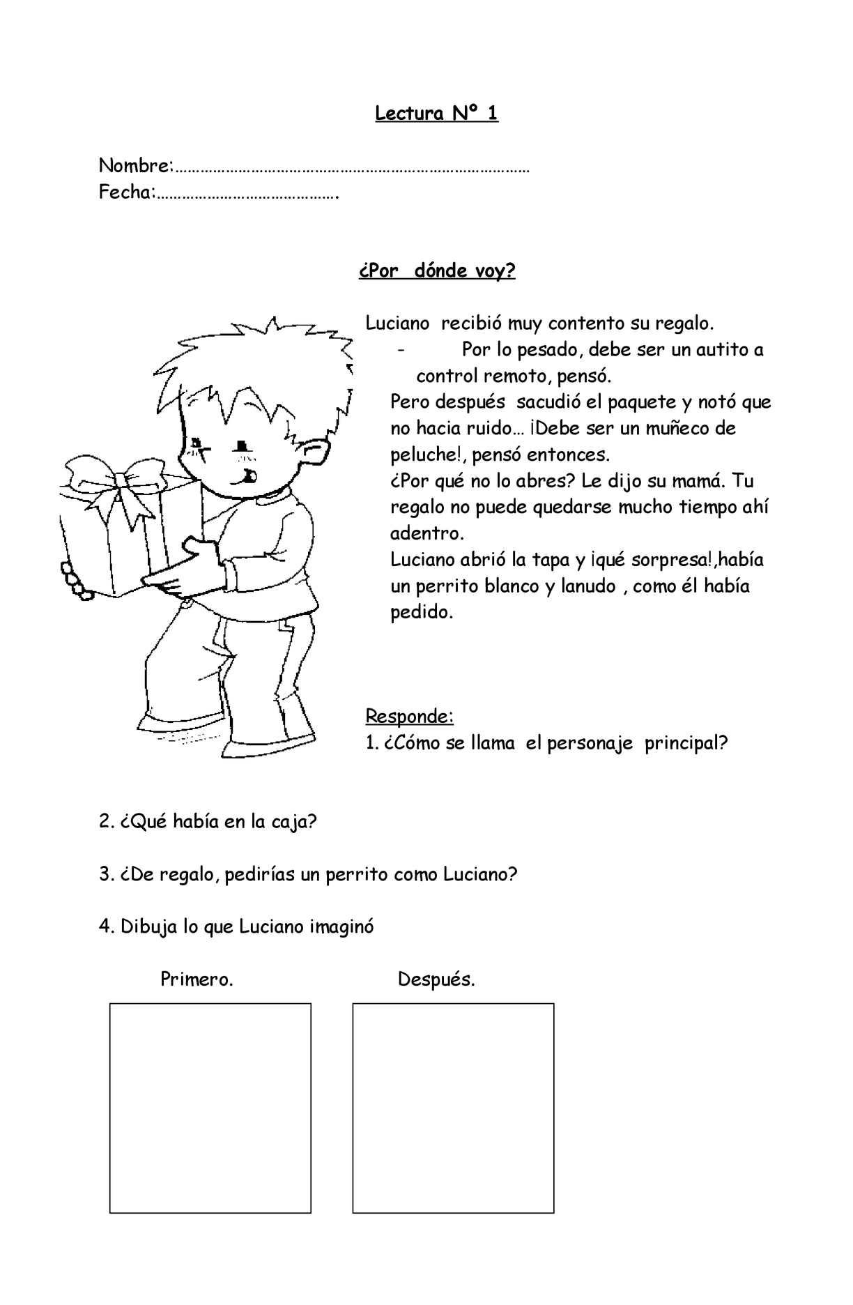 Calaméo - Fichas De Comprension De Lectura 1o Y 2o De Primaria