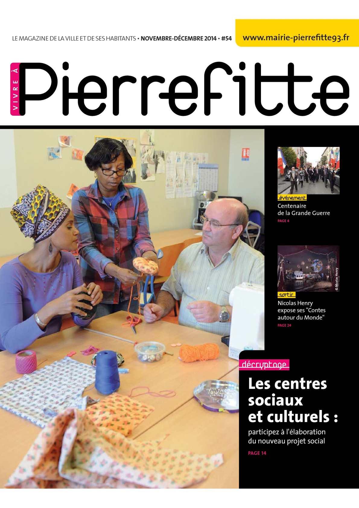 Calaméo Vivre  Pierrefitte Nov Dec 2014