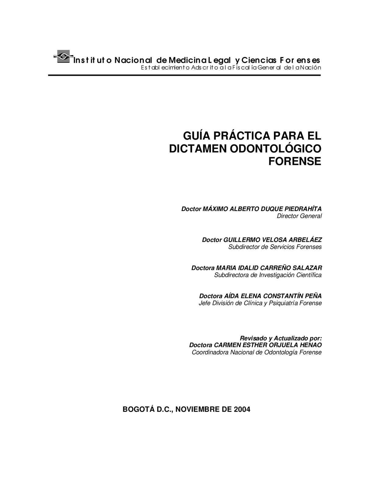 Guia De Odontologia Forense
