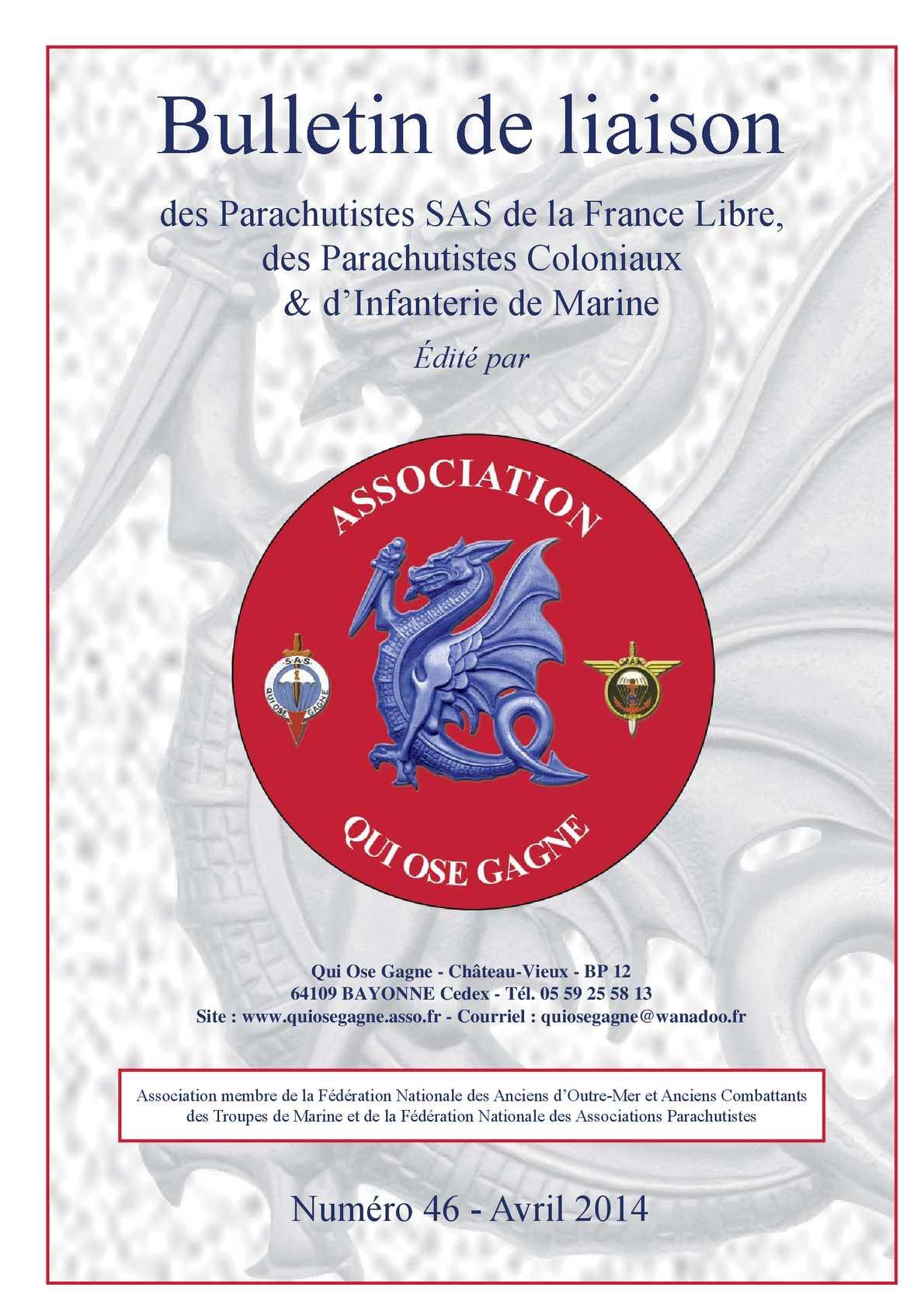 N°46 Bulletin Avril 2014