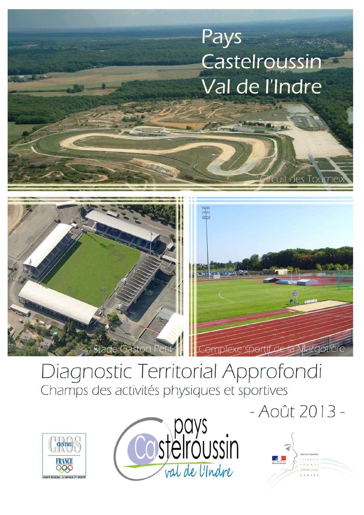 Diagnostic Territorial Sportif Approfondi Du Pays Castelroussin (2013 2014)