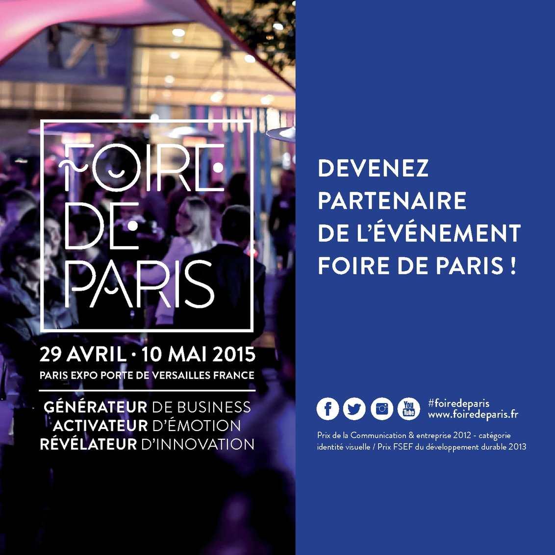 Calam o foire de paris 2015 fr - Table a repasser foire de paris ...