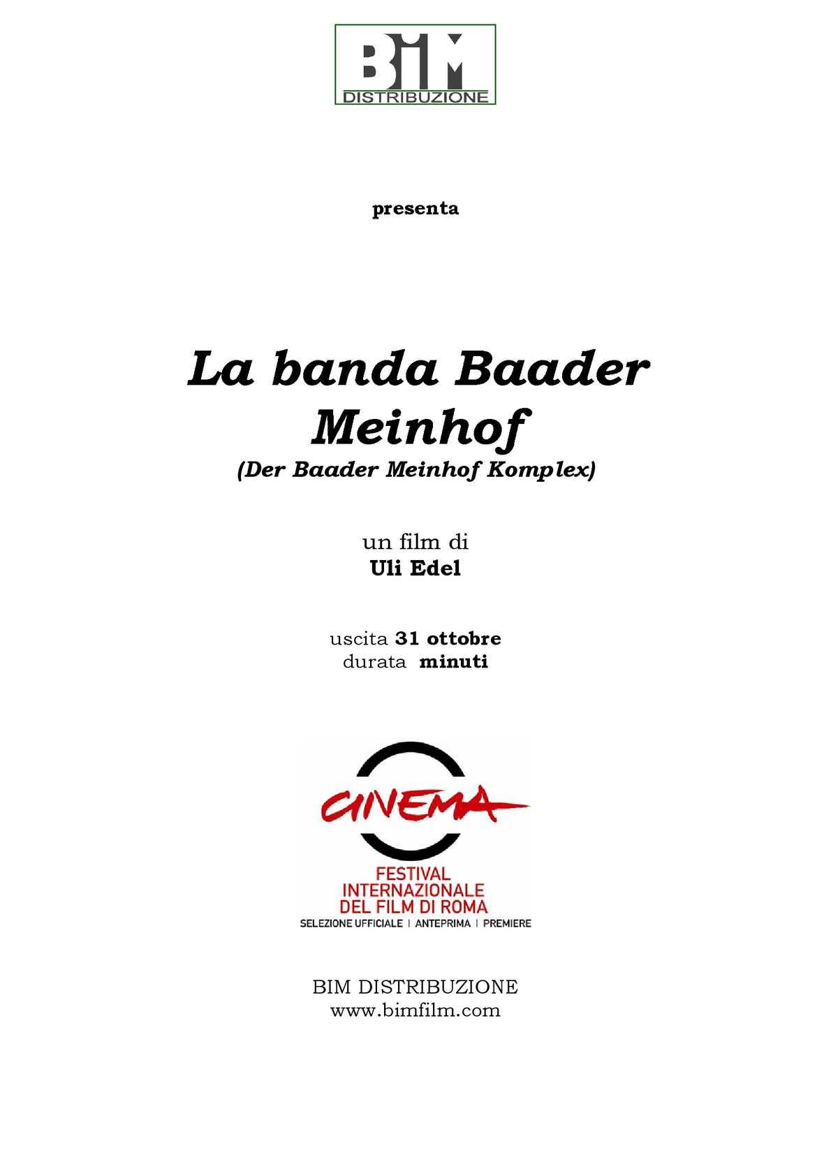 La Banda Bader Meinhof