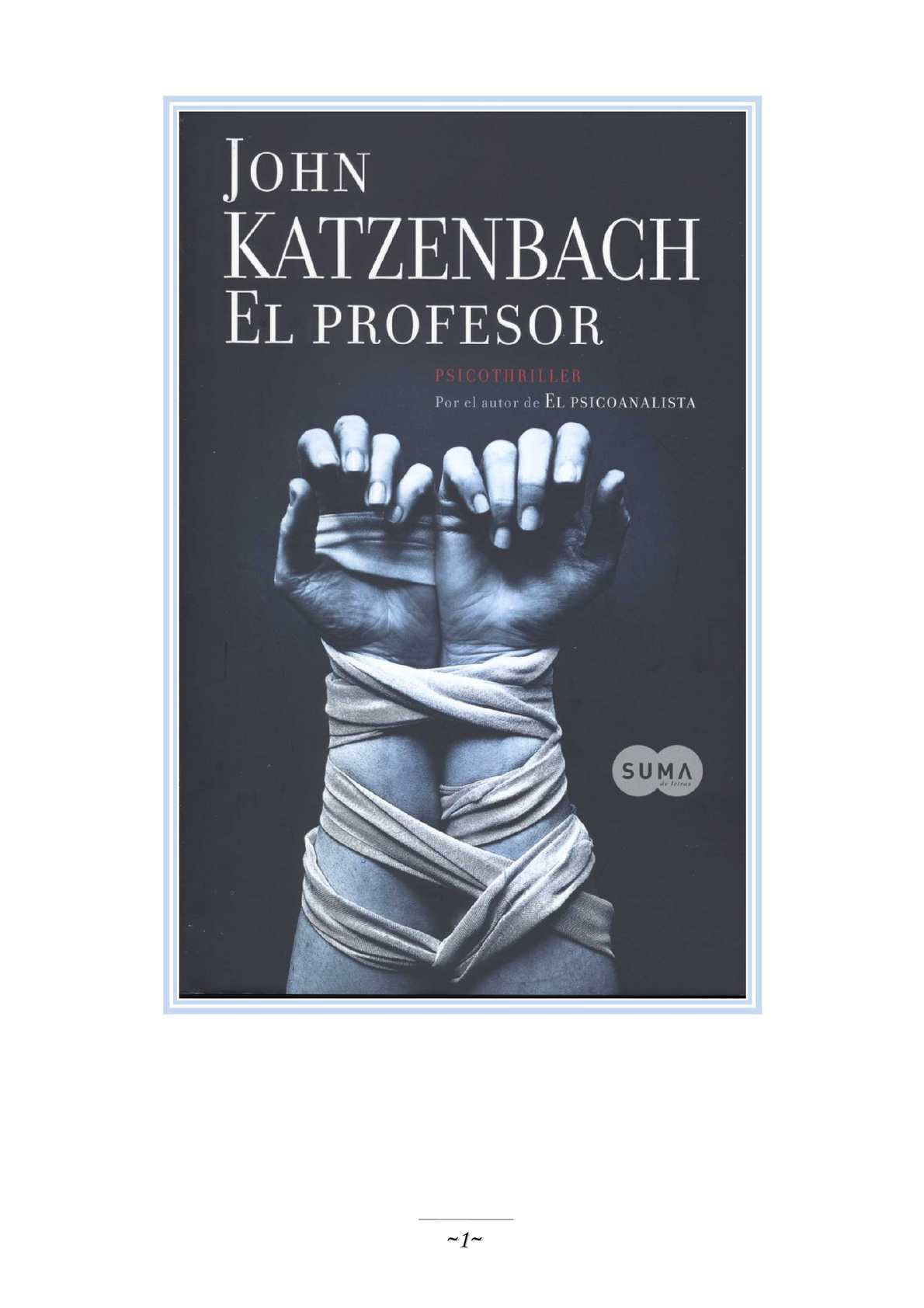 Calaméo - El Profesor John Katzenbach