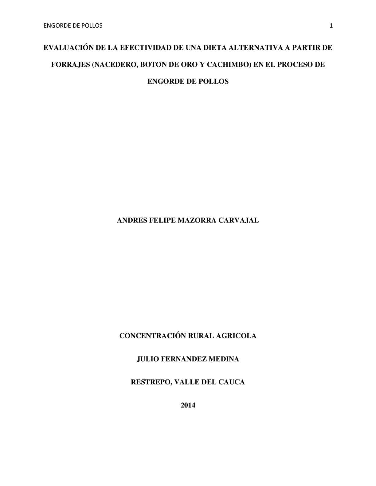 Calaméo - DIETA ALTERNATIVA PARA POLLOS DE ENGORDE
