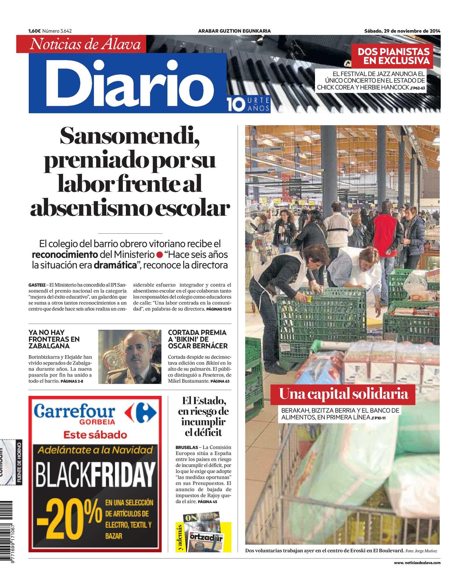 Calaméo - Diario de Noticias de Álava 20141129