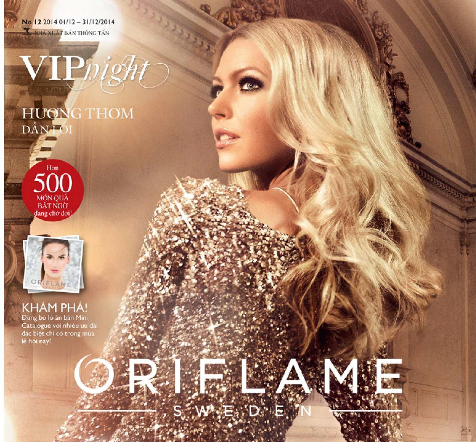 Catalogue My Pham Oriflame 12-2014
