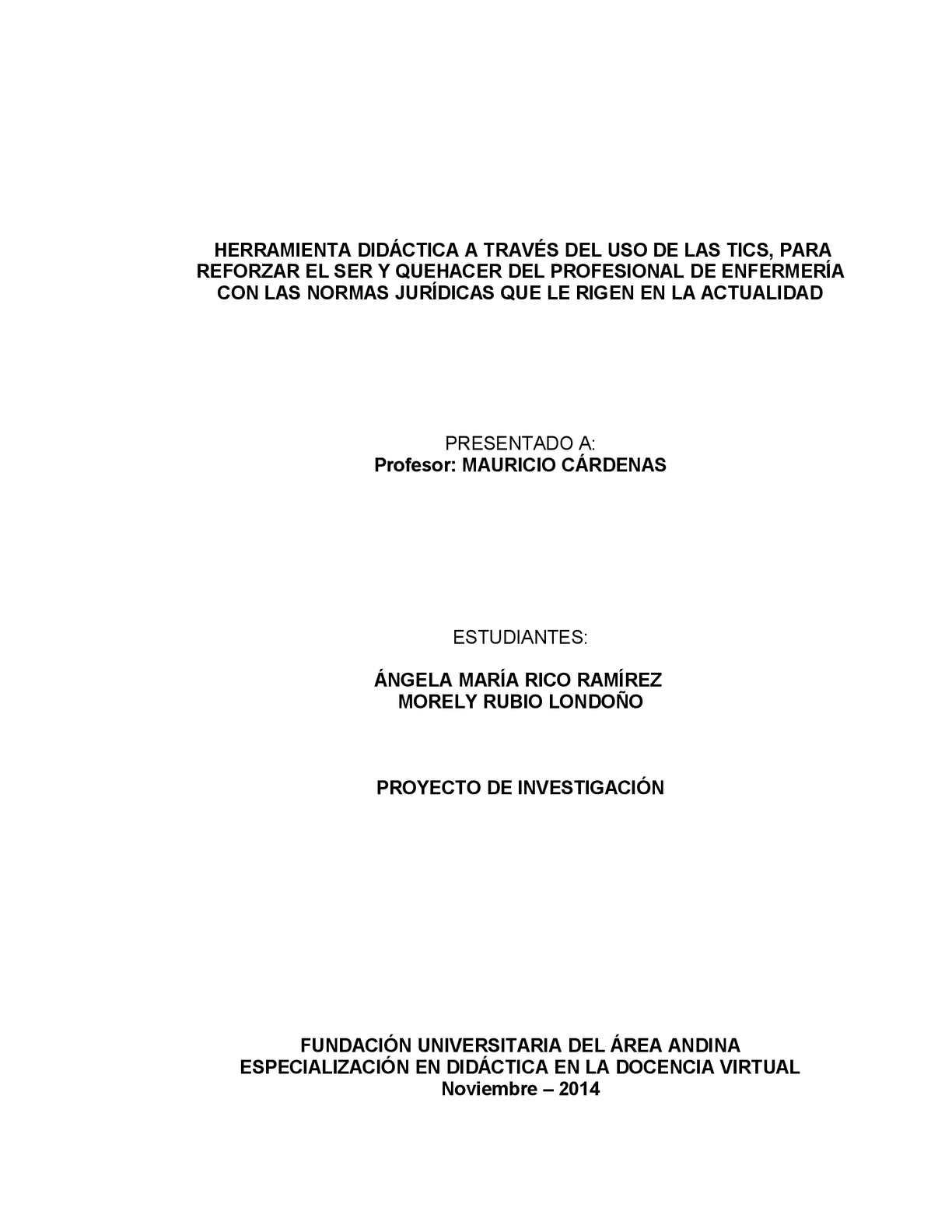 Calaméo - PROYECTO OVA POSTGRADO FUAA