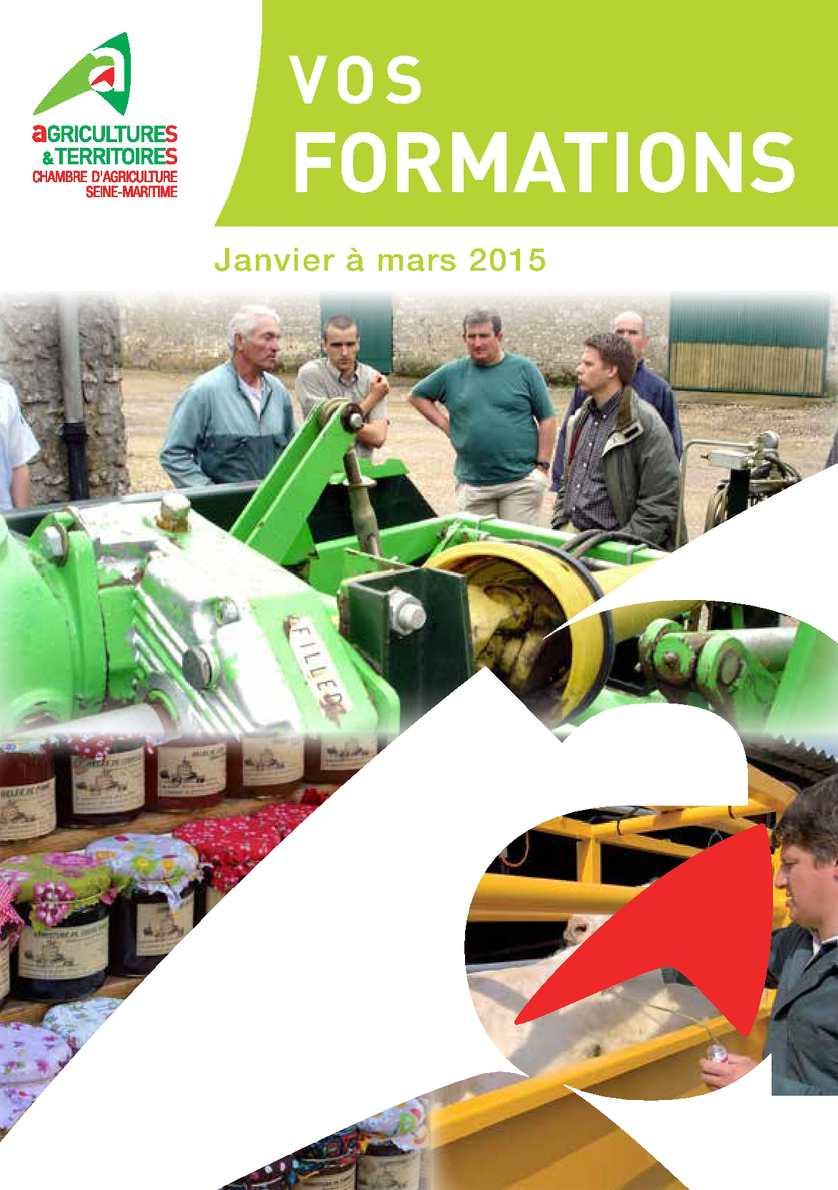 Calam o catalogue formation 1er trim 2015 chambre d 39 agriculture 76 - Formation chambre d agriculture ...