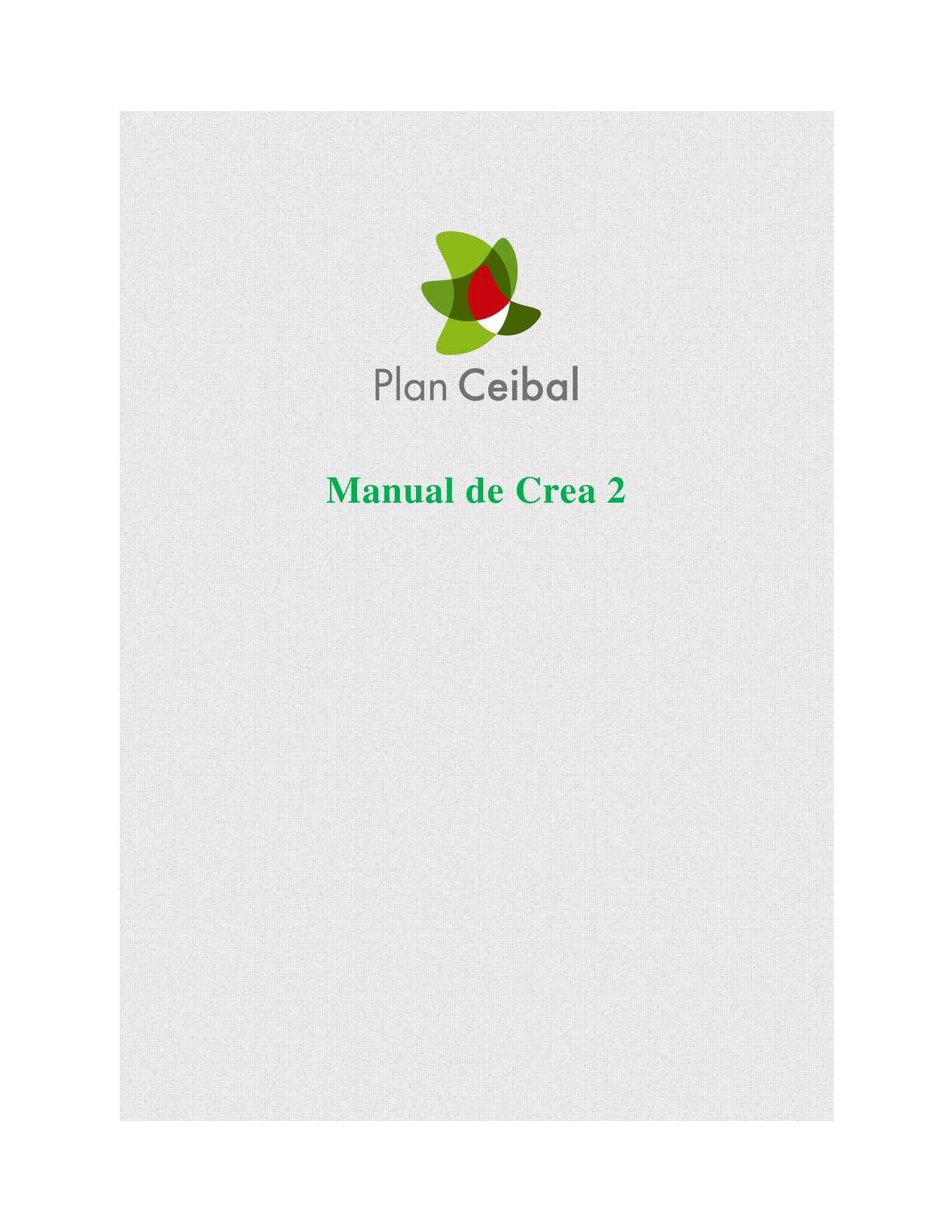 Calaméo - Manual Crea 2 Ceibal
