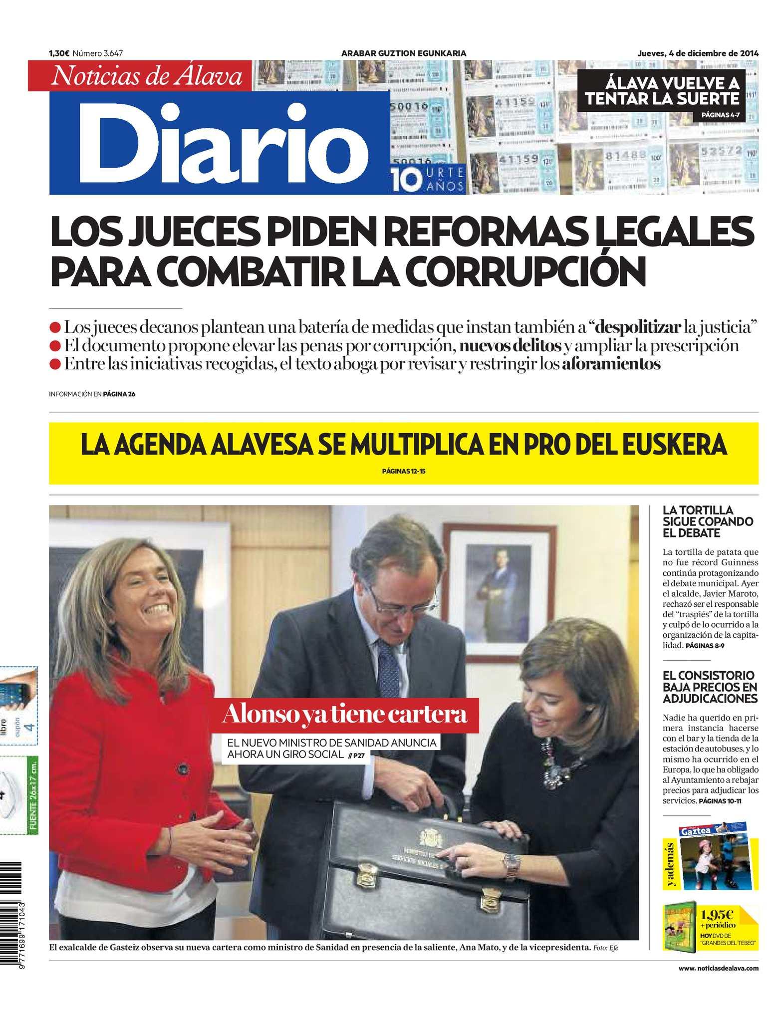 Calaméo - Diario de Noticias de Álava 20141204