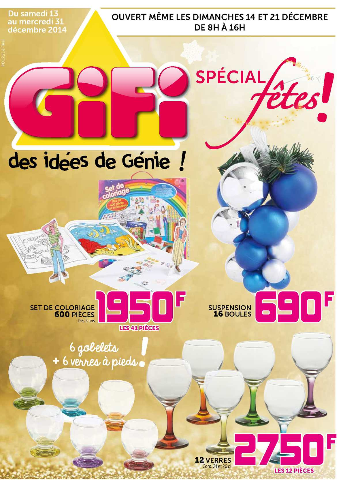 Calam o catalogue gifi tahiti sp cial f tes for Decoration de fenetre gifi