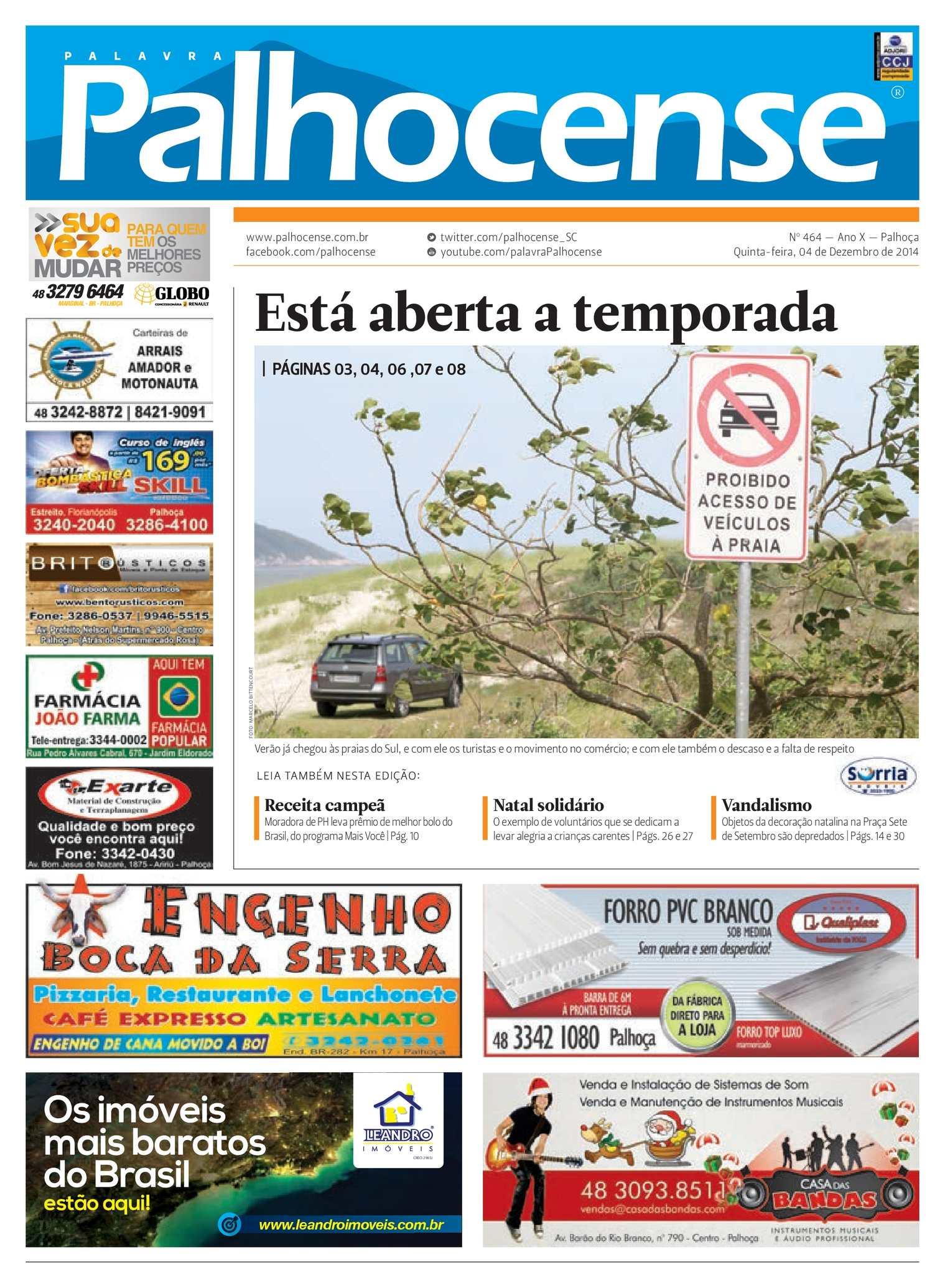 Calaméo - Jornal Palavra Palhocense - Edição 464 d582f318b3d