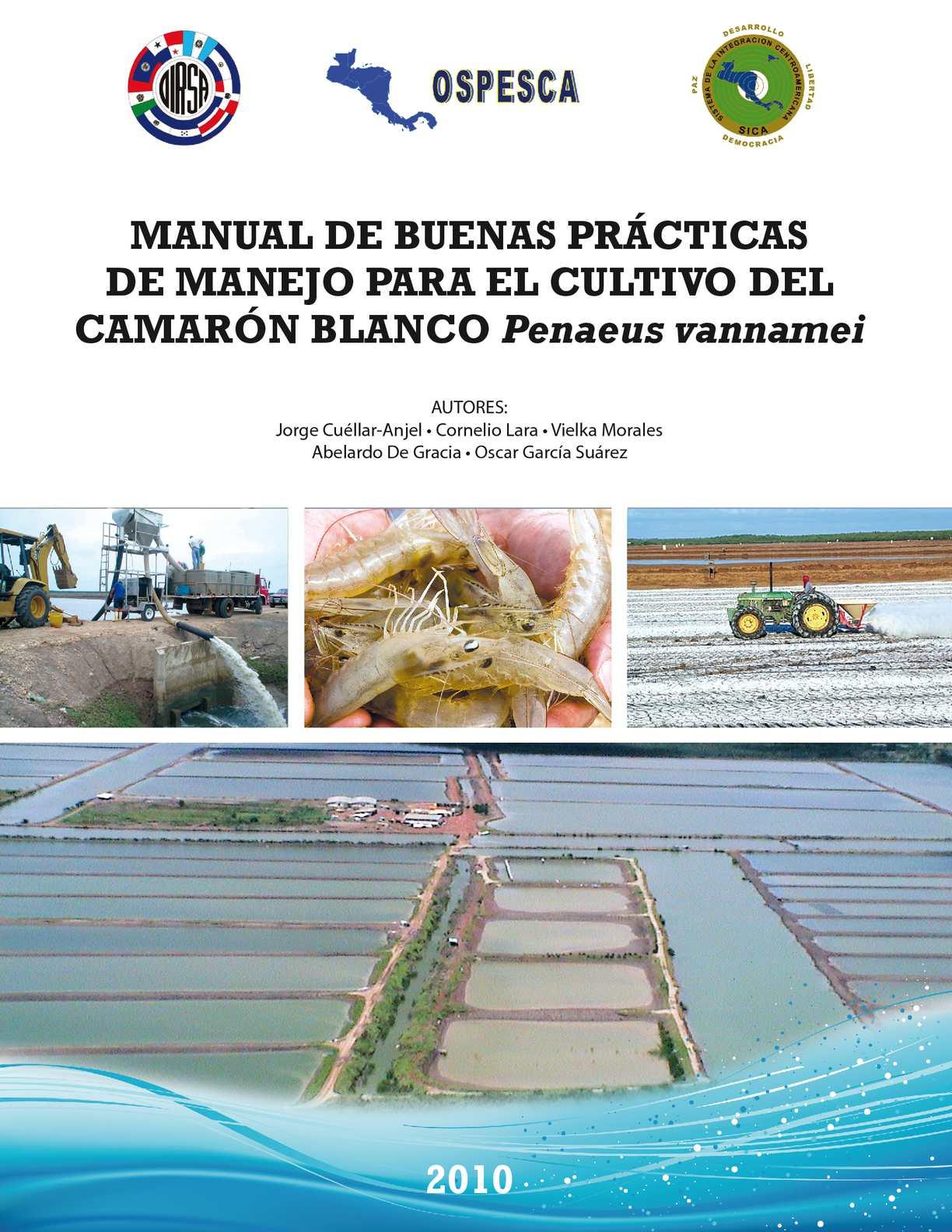 Calam o manual buenas practicas camaron cultivo2010 for Manual de viveros forestales pdf