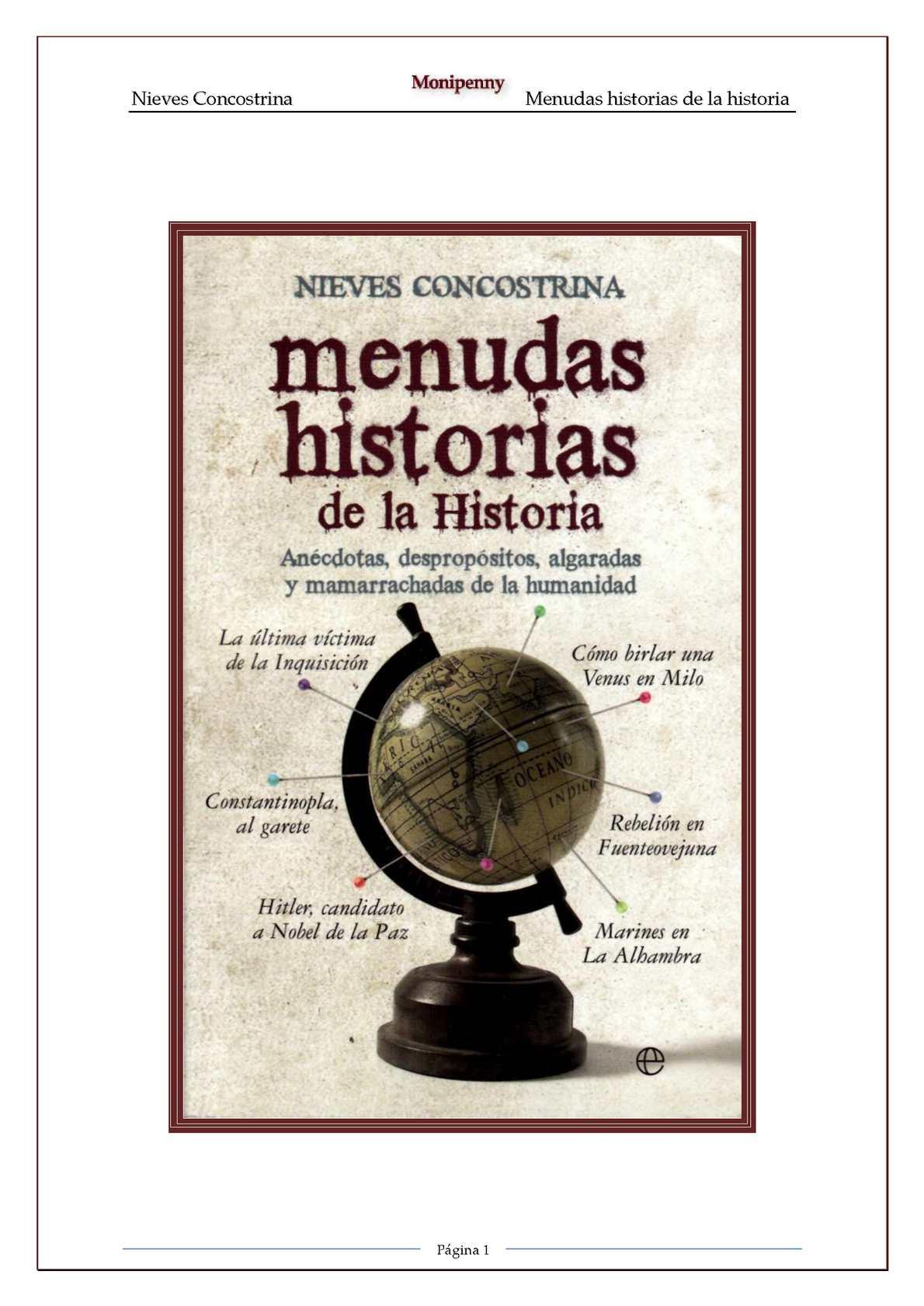 Calaméo - Concostrina, Nieves Menudas Historias De La Historia