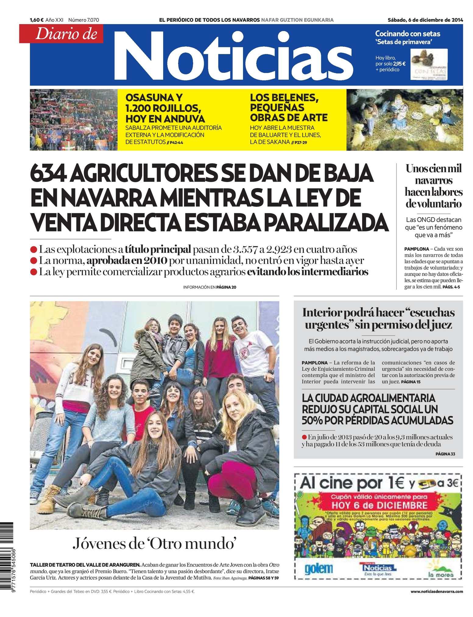 Calaméo - Diario de Noticias 20141206