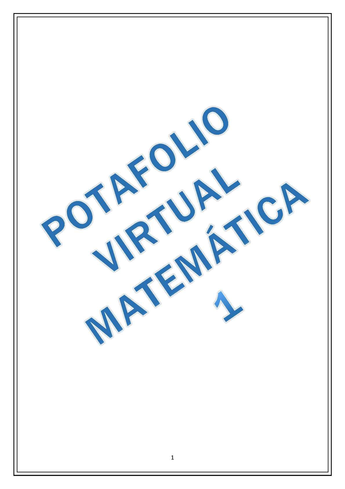 UCE MATEMATICA 1