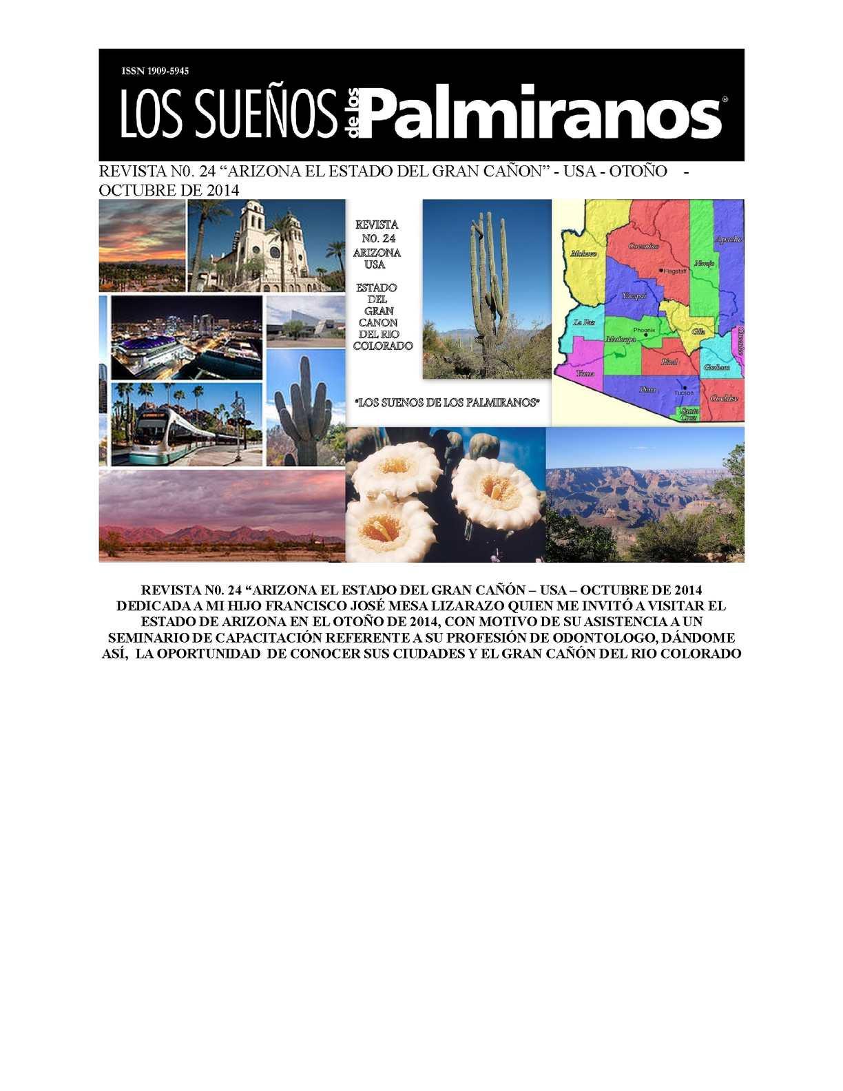 Calaméo - Revista N0. 24 Arizona