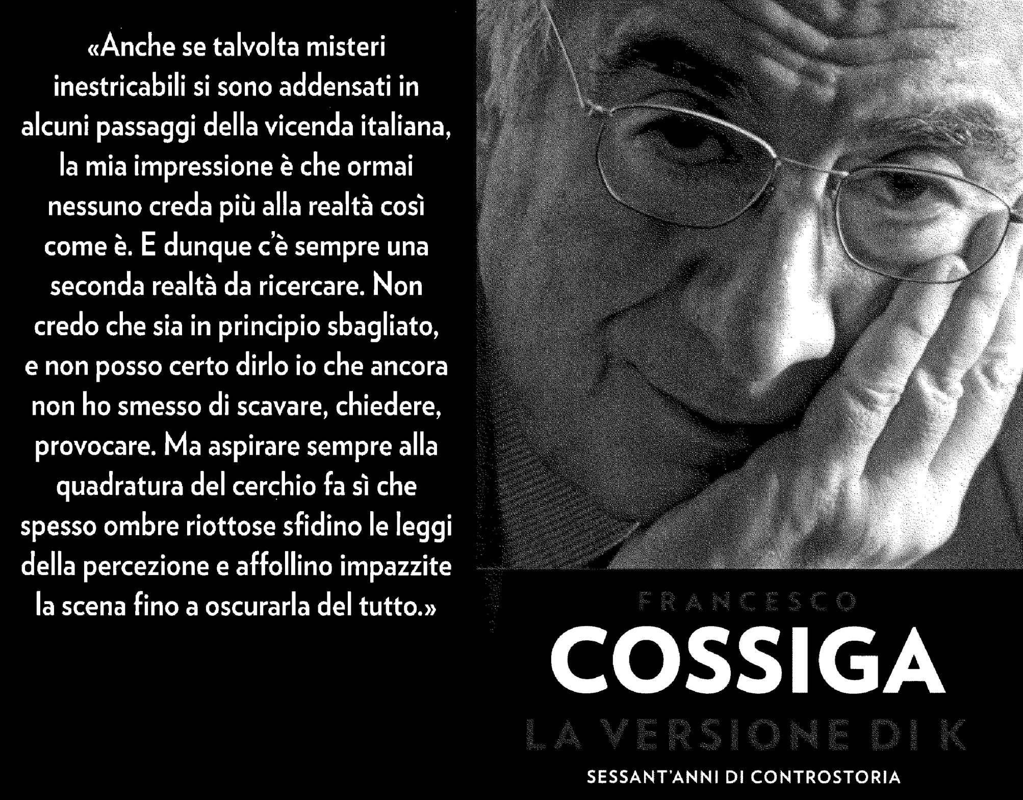 Francesco Cossiga La Versione Di K