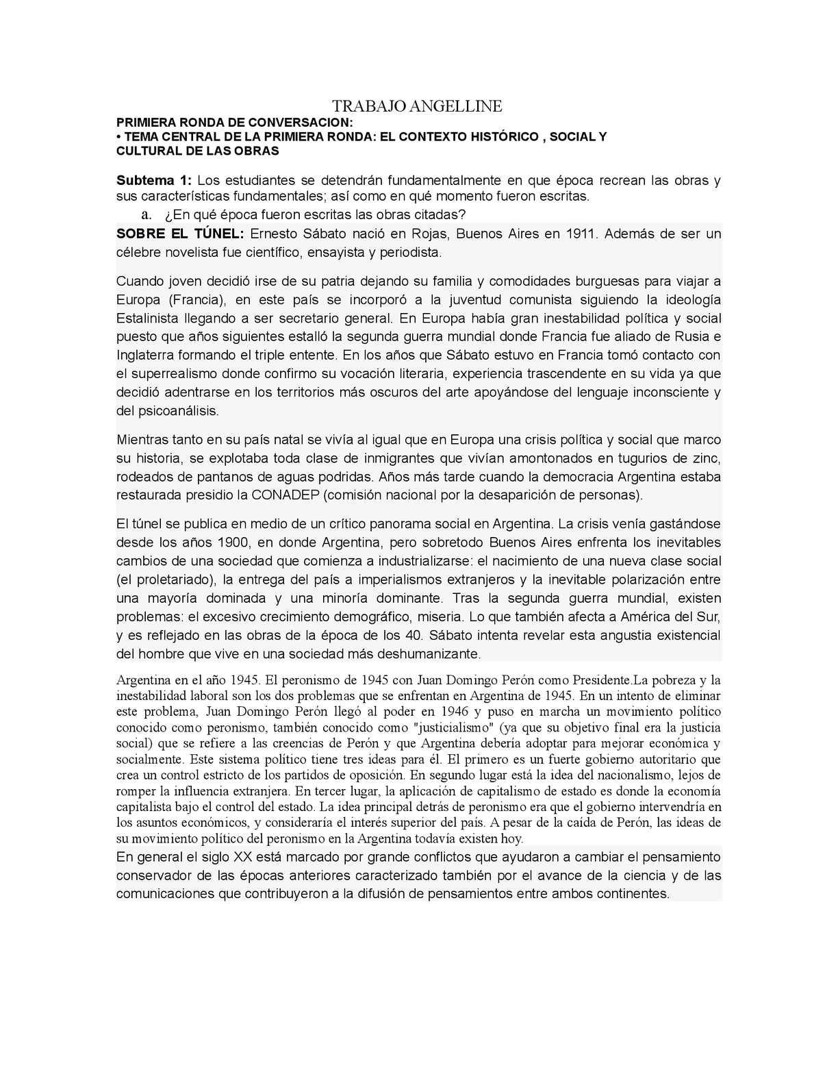 Calaméo - Sobre Tunel Y Rosa Cuchillo Trabajo