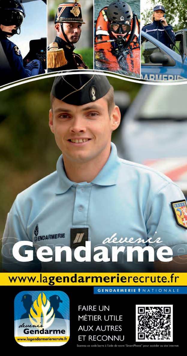 Calam o brochure devenir gendarme 112014 - Grille salaire sous officier gendarmerie ...