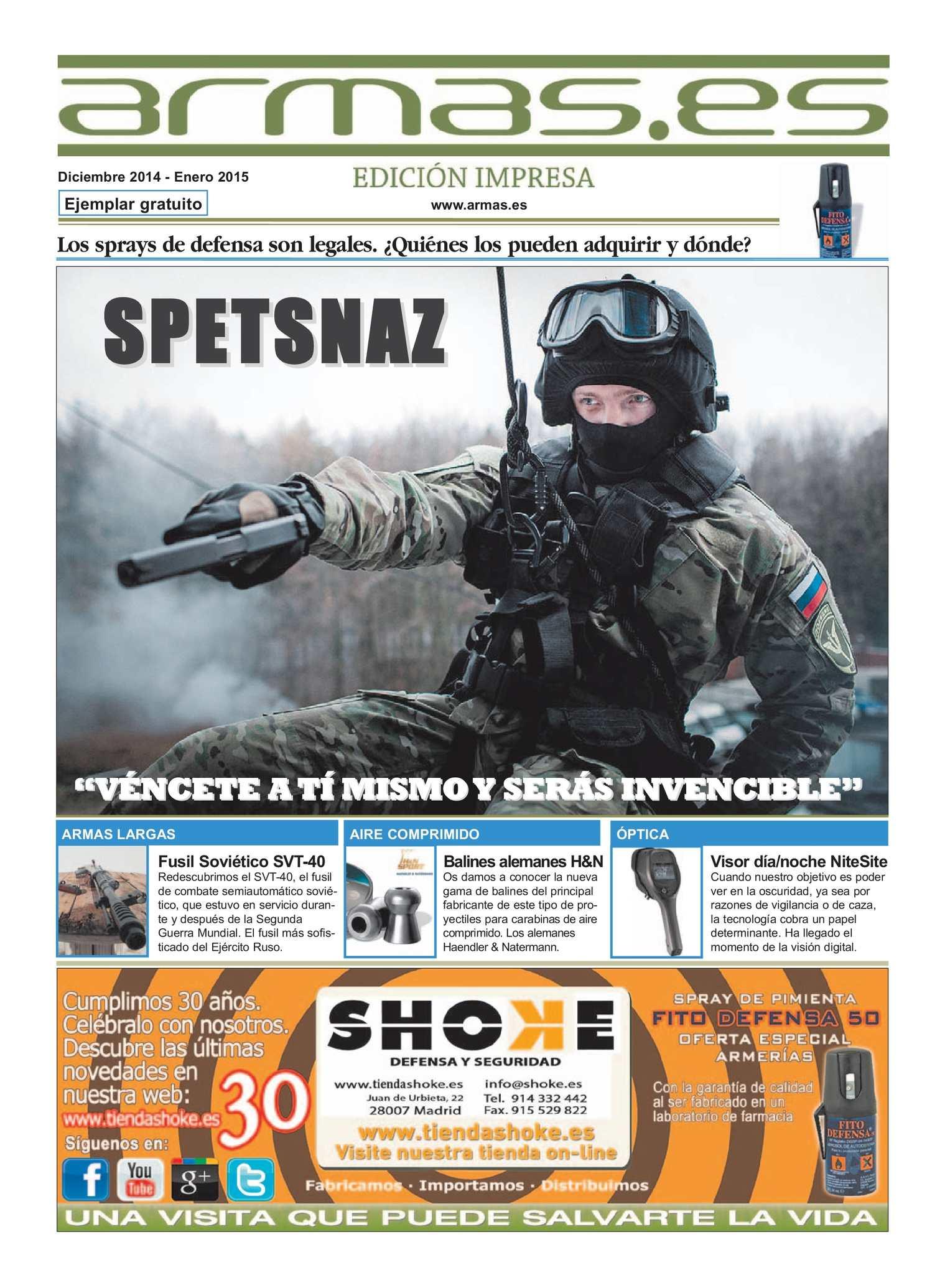 Calaméo - Periodico Armas Diciembre 2014 nº 57