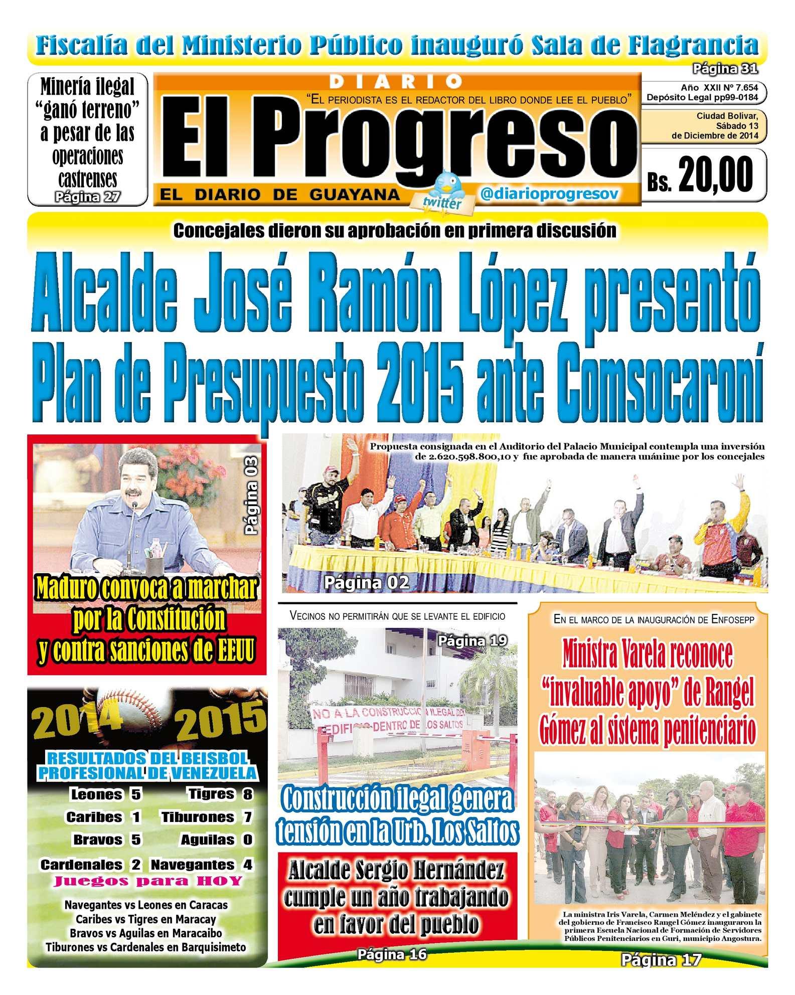 Calaméo - DiarioelprogresoEDICIÓNDIGITAL 13-12-2014
