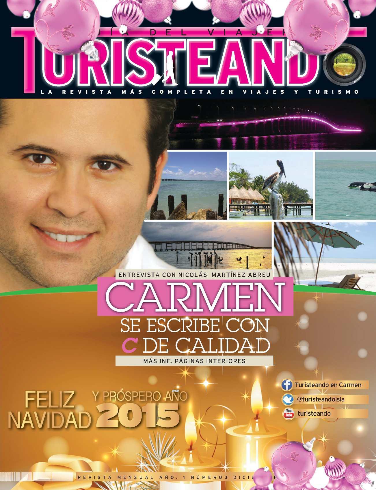 Turisteando en Carmen 3era. Edición