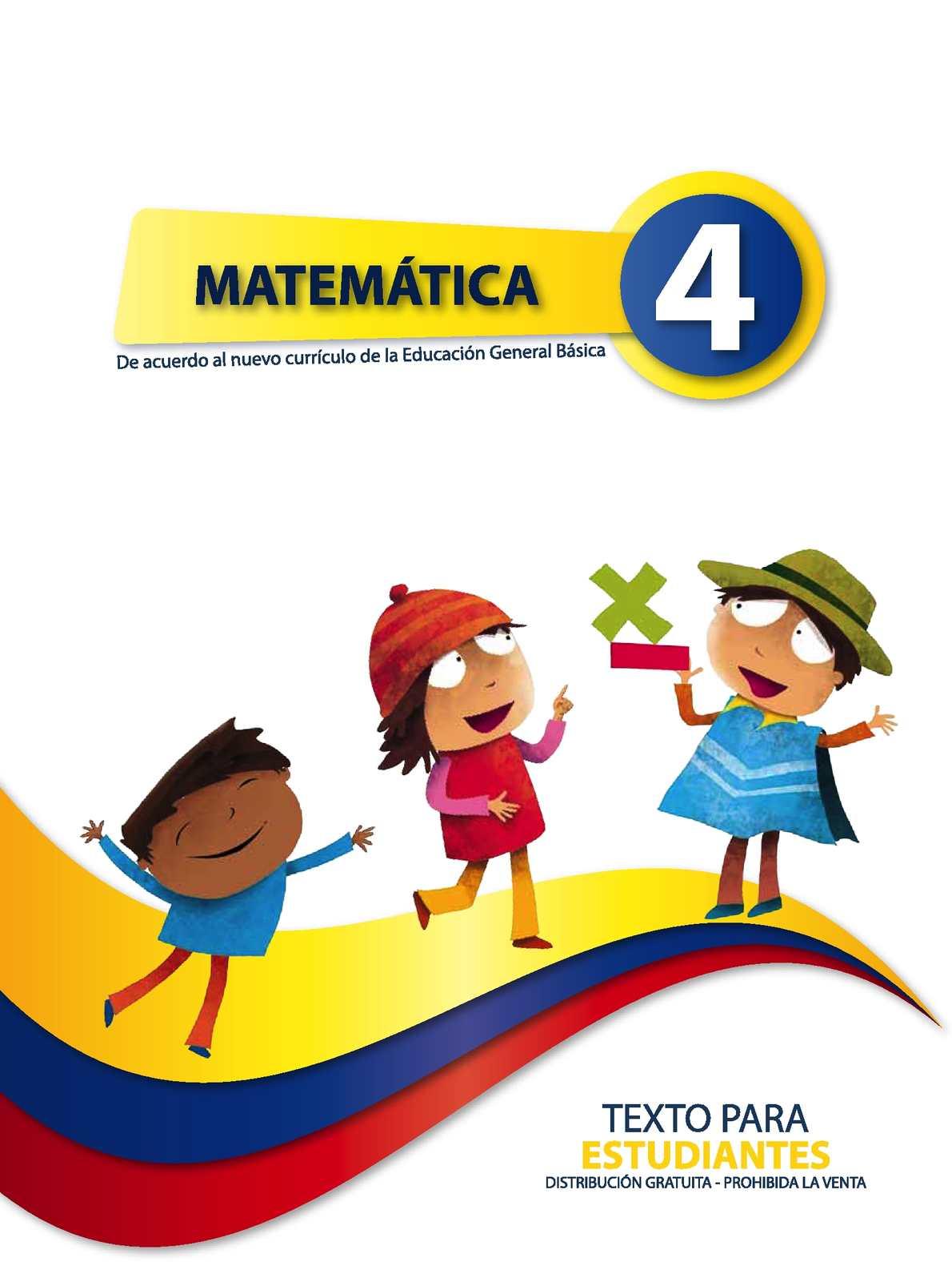 Matematica 4 Egb