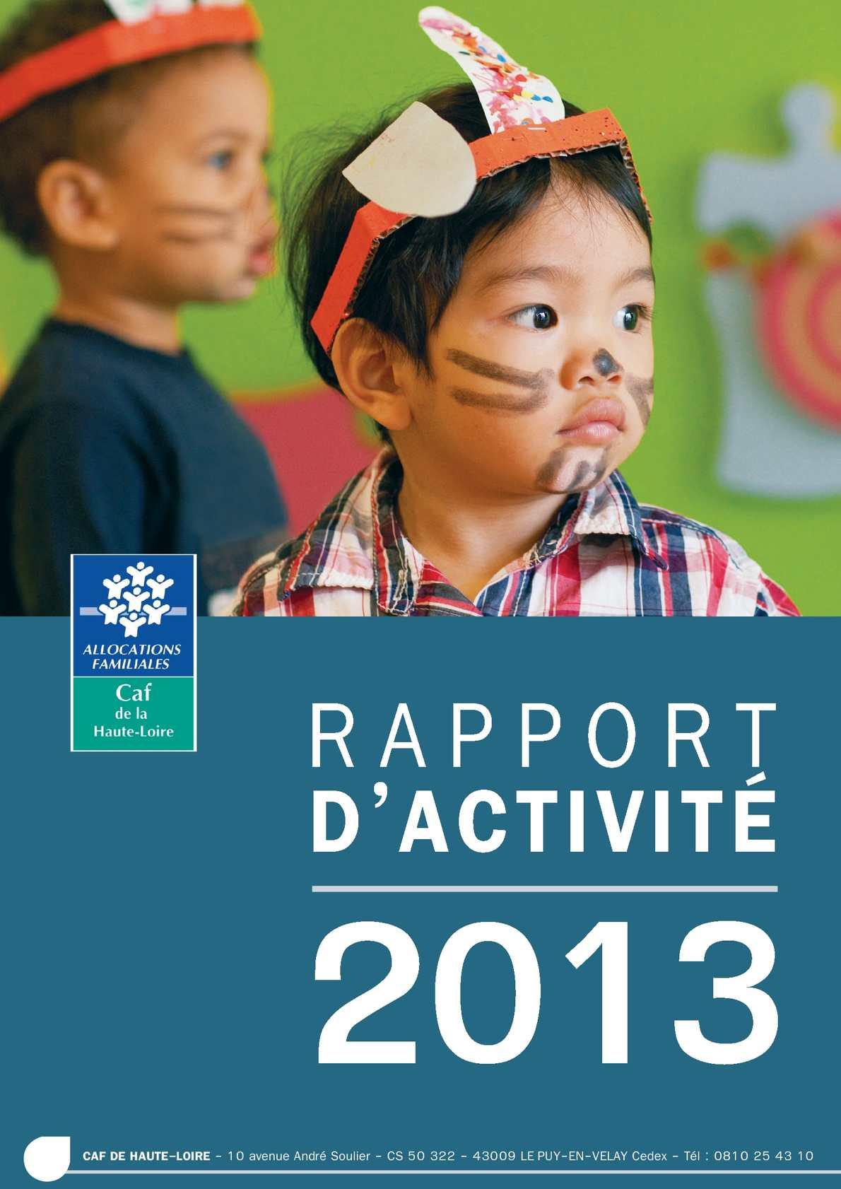 Calam 233 O Rapport D Activit 233 2013