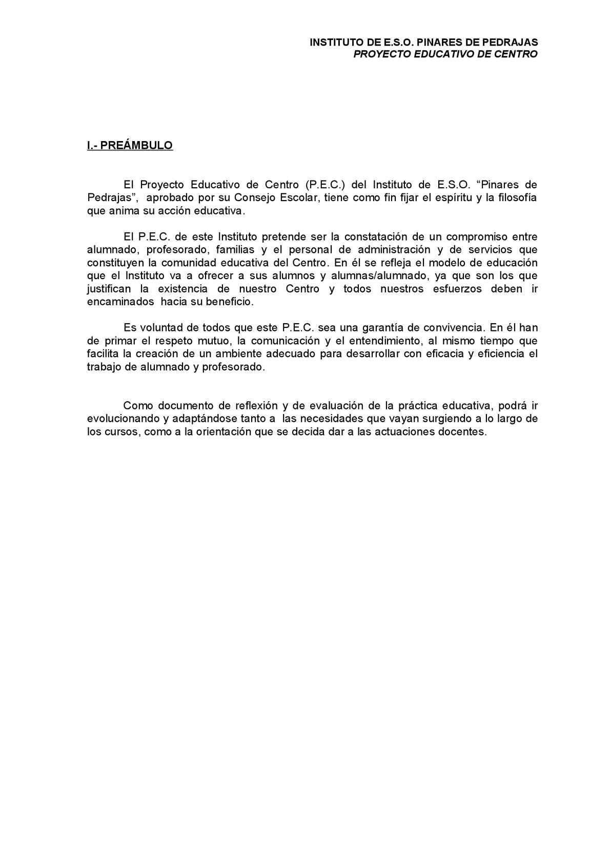 Calaméo - P.E.C. I.E.S.O. Pinares de Pedrajas